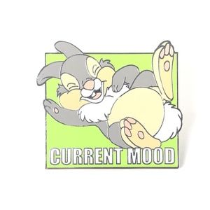 Bambi Thumper Current Mood Disney Pin